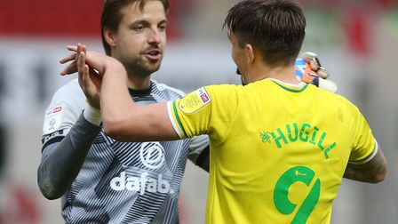 Tim Krul's heroics this month has seen him nominated for Player of the Month. Picture: Paul Chester