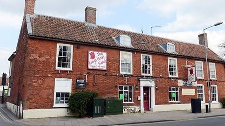 The King's Head on Norwich Street in Dereham where Breckland Council places people in temporary acco