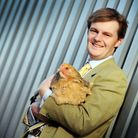 Poultry auctioneer Fabian Eagle, who runs the weekly poultry markets in Swaffham and Holywell Row. P