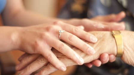 Many people with dementia and their carers have been left more isolated during coronavirus. Picture: