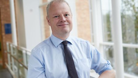 Sam Higginson, chief executive of the Norfolk and Norwich University Hospital. Picture: NNUH