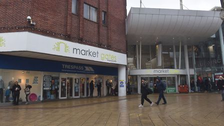 The Market Gates shopping centre in Great Yarmouth. Pictures: BRITTANY WOODMAN