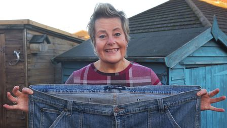 Jacquii Cann has lost 8 stone through cutting out sugar and managing meal sizes. Here she is picture