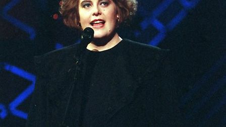 Jacquii Cann back in 1993 as Alison Moyet in the TV show Stars in Your Eyes. Pic: EDP library