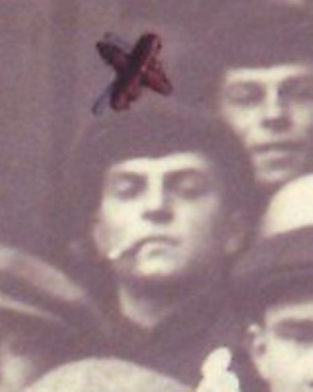 George Utting enlisting for war in Norwich