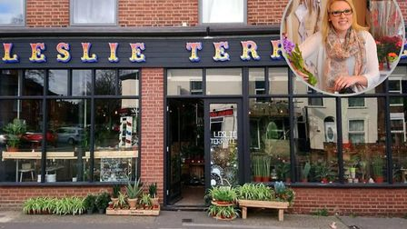 Kerri Notman, owner of Plant Shop Leslie Terrance Home Gift and Garden is opening an on-site cafe in