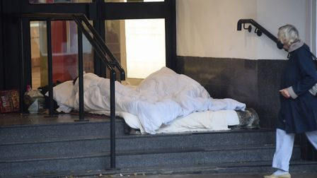 Norwich City Council has been awarded more than £1.5m to help prevent rough sleeping. Picture: DENIS