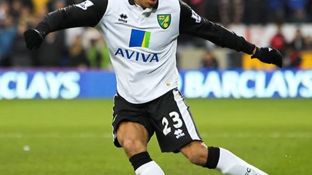 Norwich City defender Martin Olsson is poised for summer shoulder surgery. Picture by Tom Smith/Focu