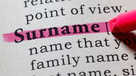 There are eight categories of surnames - do you know which one yours falls under? Picture: Getty Ima