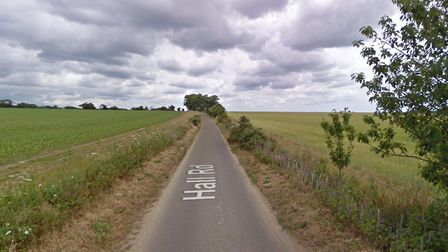 Police are investigation after a large amount of heavy cable was stolen from a village in Norfolk Pi
