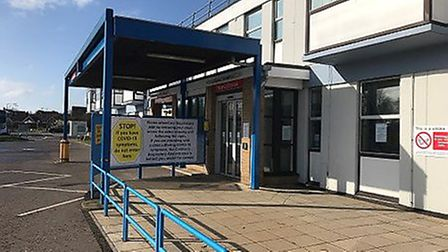 Gorleston's James Paget Hospital has had its worst single day for Covid-19 deaths since May 1 PHOTO: