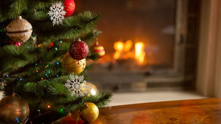 Putting his Christmas tree up early is an act of defiance against 2020, says James. Picture: Getty I