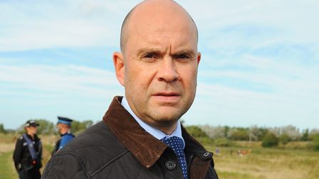 DI Chris Burgess, of Norfolk police, is urging anyone with information on the knifepoint robbery at