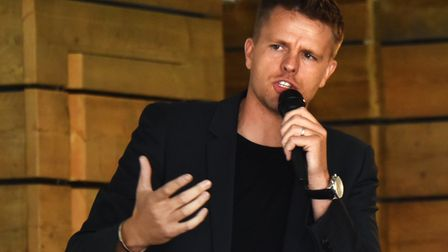 Jake Humphrey has spoken out about sexism towards female sports pundits. Picture: ANTONY KELLY