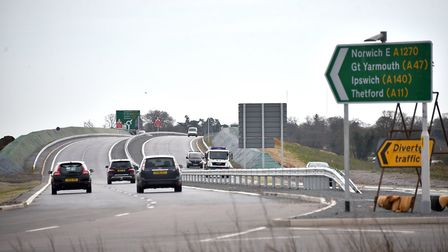Norwich City Council have backed plans for the NDR Western Link, despite protests. Picture: ANTONY K