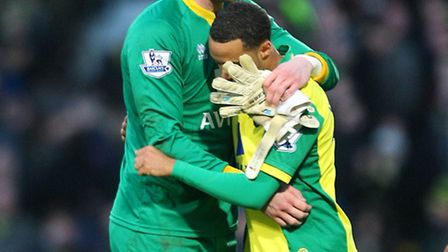 Norwich City duo John Ruddy and Nathan Redmond are both on England duty next week along with a host