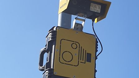 Automatic number plate recognition cameras were trialled in Costessey. Pic: Gary Blundell.