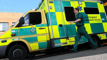 East of England Ambulance Service - Norfolk and Norwich University Hospital at Colney.