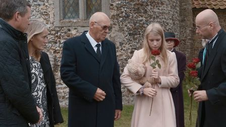 A scene from the new short film from Rosedale Funeral Home which aims to teach children about what h