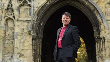 The Bishop of Norwich, the Rt Rev Graham Usher. Picture: DENISE BRADLEY