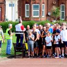 Runners at the start line of a previous parkrun at Gorleston Cliffs Picture: Richard Knibb