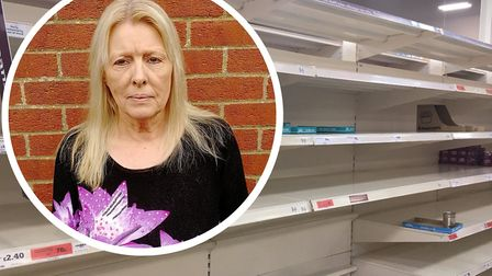Lesley Thorburn has been frustrated that she and other vulnerable people cannot get the supplies the