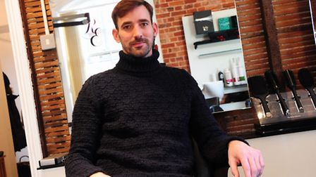 Stewart Martin has won the Men's Hairdressing Federation awards. It is the first year the competitio