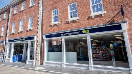 The Original Factory Shop in Fakenham, among the Norfolk stores which will have a 'Golden Hour' for