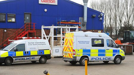 A building site where four men died was not the responsibility of Great Yarmouth firm Claxton Engine
