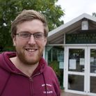 Ben Youngs at North Walsham Garden Centre. Pic: Archant