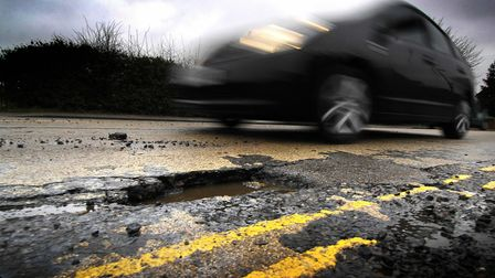 Surface dressing to prevent pot-holes will continue, say council bosses. PHOTO: ANTONY KELLY.