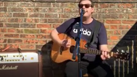 Jack Daniel puts on Facebook Live gig for people during lockdown. Thousands watched due to pubs bein