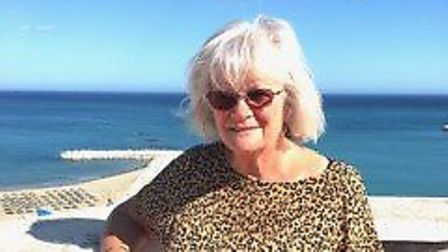 Carole Dack, 70, from Norfolk was on Holiday in spain as the country went into lockdown. Picture: Ca