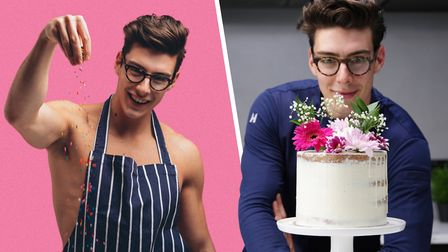 Matt Adlard from Norwich found fame as the Topless Baker and now has thousands of followers and is a