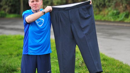 Andrew Smith-Howell from Bungay has lost over 8 stone since last June after joining Slimming World.