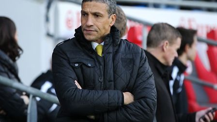 Norwich City boss Chris Hughton is hoping to mastermind his side to victory at Upton Park this eveni