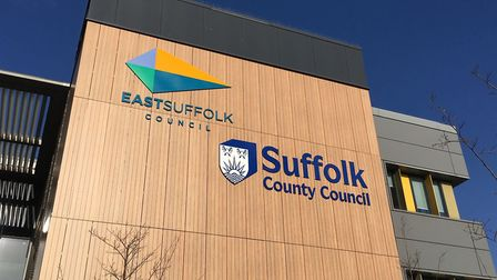 East Suffolk Council's headquarters in Lowestoft. Picture: Thomas Chapman