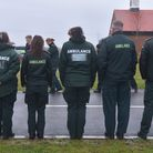 The funeral of one of the ambulance workers, Luke Wright, took place in December 2019 at Breckland C