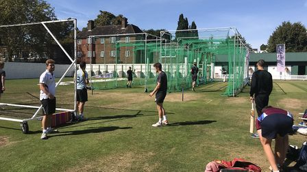 Players can return to nets - but must follow the guidelines Picture: Kevin Denmark