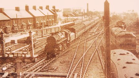 Hunstanton railway station, before the line was closed in August 1969 Picture: Archant