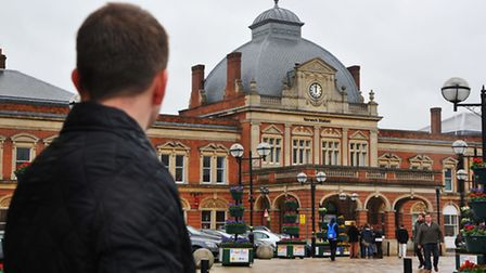 Norfolk commuter Nick Hannant who is compiling a diary of his delayed journeys with Greater Anglia.