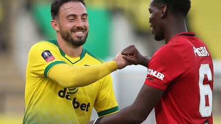Norwich City striker Josip Drmic, who has suffered abuse on Instagram Picture: Paul Chesterton/F