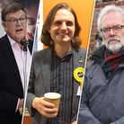 (left to right) Andrew Proctor/Steffan Aquarone/Steve Morphew. Picture: Archant