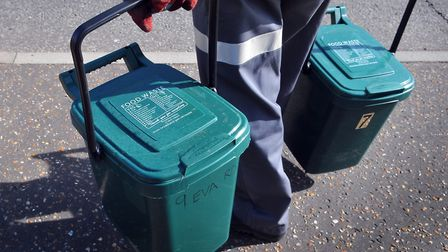 Food waste collections are expected to resume in west Norfolk next April Picture: Archant