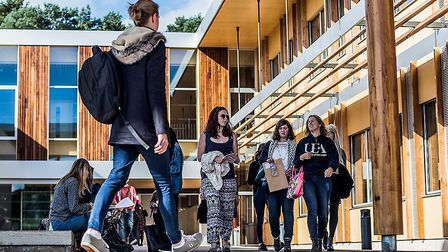 The University of East Anglia are dealing with a surge of demand for places from students initially