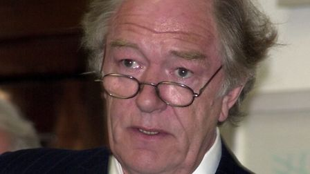 Sir Michael Gambon who is appearing at Halesworth's HighTide Festival.