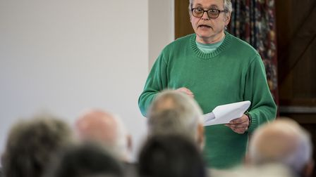 West Norfolk Borough Council independent group leader Terry Parish. Picture: Matthew Usher.