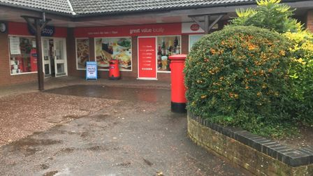 Long Stratton Post Office. PIC: Peter Walsh.