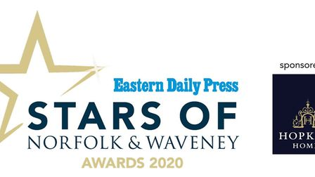 EDP Stars of Norfolk and Waveney 2020. Pictured is the logo. Picture: Archant Library