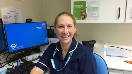 Emma Chamberlain. Nominated for a Stars of Norfolk and Waveney Award 2020 NHS Person of the Year. Pi